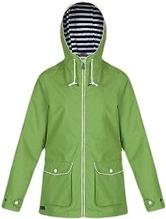 Macondoo Womens Plus Size Jacket Hooded Mountain Outwear Windbreaker Trench Coat