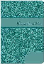 NKJV, Woman's Study Bible, Personal Size, Leathersoft, Turquoise (Signature)