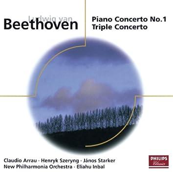 Beethoven: Piano Concerto No.1; Triple Concerto