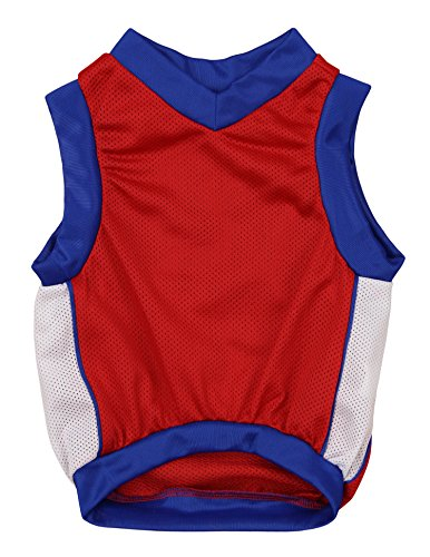 Sporty K9 Basketball Dog Jersey, Los Angeles Clippers Medium
