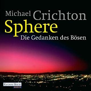 Sphere     Die Gedanken des Bösen              Autor:                                                                                                                                 Michael Crichton                               Sprecher:                                                                                                                                 Oliver Rohrbeck                      Spieldauer: 13 Std. und 54 Min.     384 Bewertungen     Gesamt 3,9
