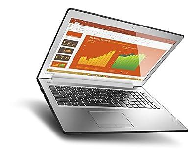"""Lenovo Ideapad 510 15.6"""" Laptop, Silver (Intel Core i7-7500U, 12GB DDR4, 256GB SSD, NVIDIA GeForce 940MX, Windows 10) 80SV0058US"""