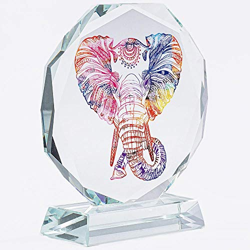 Elephant Gifts For Women | Girls | Men | MOM | Christmas | Home | Her | Crystal | Keepsake | Paperweight