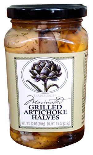 Marinated Grilled Artichoke Halves