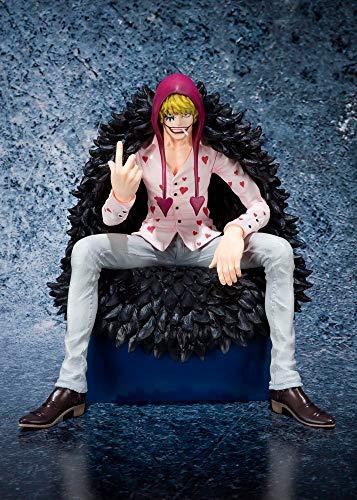 Bandai Simon Corazon Figur 13,5 cm groß One Piece Figuarts Zero, Mehrfarbig (BDIOP550750)