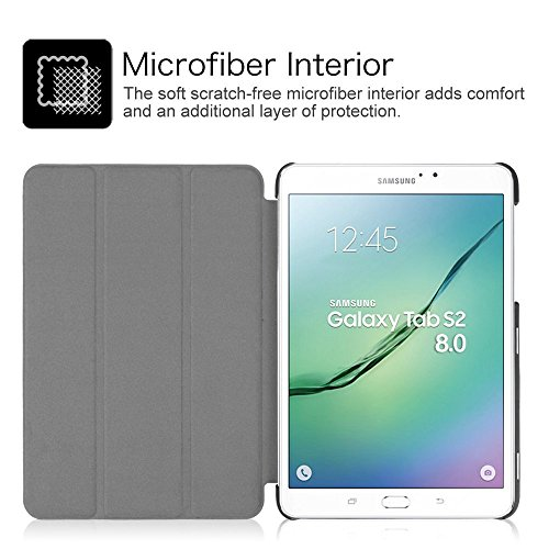 Fintie Coque pour Samsung Galaxy Tab S2 8.0 8 inches   Circulaire ...