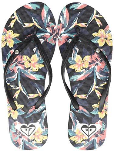 Roxy Bermuda Print, Zapatos Playa Piscina Mujer, Multicolor