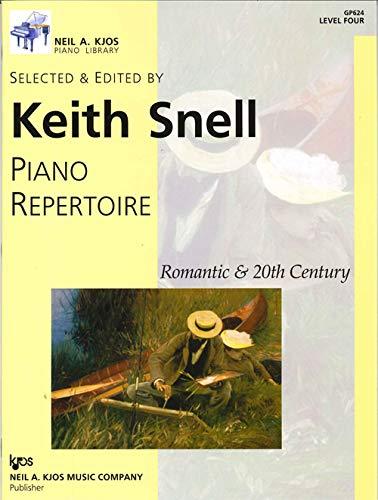 GP624 - Piano Repertoire: Romantic & 20th Century, Level 4
