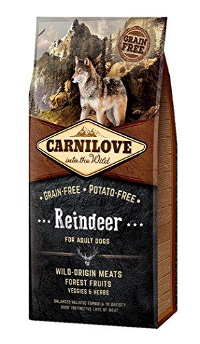 12 KG Carnilove reindeer adult hondenvoer