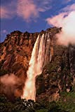 654037 Angel Falls On Auyan Tepui Venezuela A4 Photo Poster