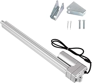 DC12V, 1500N ECO-WORTHY 14 inch Linear Actuator Motor Heavy Duty 330 lbs 14 Stroke 12mm//s Speed Low Noise Less Than 42 dB with Mounting Brackets