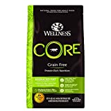 Wellness CORE Natural Grain Free Dry Dog Food, Reduced Fat, 4-Pound...
