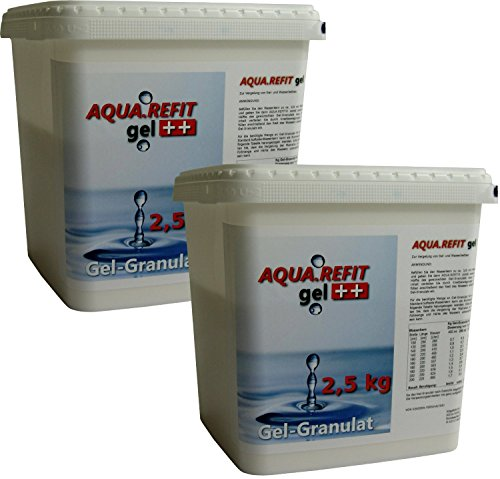 Aqua REFIT Granulat zur Gel-Erzeugung 5,0 kg Wasserbett Gelbett