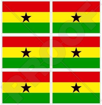 GHANA Ghanese Vlag Gemenebest, West-Afrika AFRIKAAN 40mm (1,6