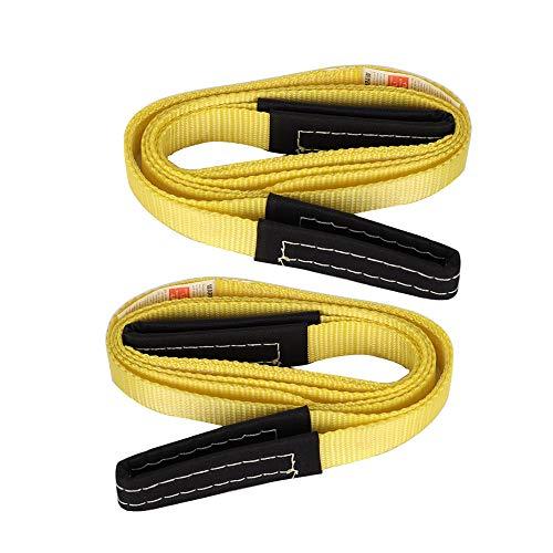 XSTRAP 2PK 8FT Lift Sling Web Strap/Wear Guard End (2pk 1''x8')