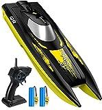 SYMA RC Boote ferngesteuert RC Schiff mit Fernbedienung High Speed Boot 2.4GHz Spielzeug für Erwachsene Kinder ab 6