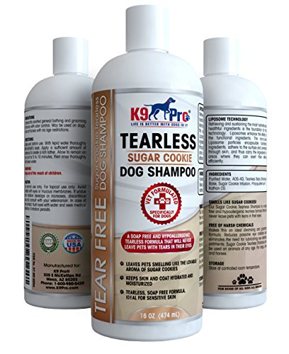 Tear Free Dog Shampoo - Best Hypoallergenic Tearless Anti Itch Vet...