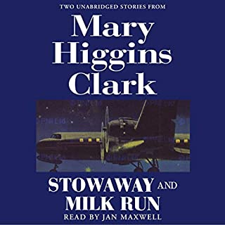 'Stowaway' and 'Milk Run' audiobook cover art