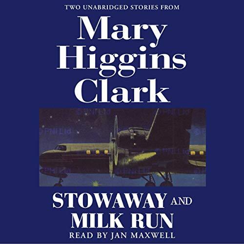 'Stowaway' and 'Milk Run' audiobook cover art