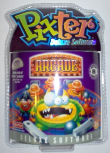 Pixter Arcade Deluxe Software, Black & White