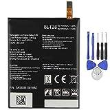 Ellenne Batterie compatible avec LG BL-T28 Q8 H970 BLT28 Pièce de rechange 3000 mAh avec kit de...
