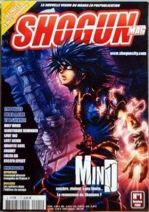 SHOGUN MAG [No 1] du 01/10/2006 - HOLY WARS - SANCTUAIRE REMINDED - LOVE' INC - QUANTIC SOUL -
