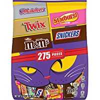 M&M'S Peanut, Snickers, Twix, 3 Musketeers & Skittles Candy Variety Mix (84.46-Oz Bag)