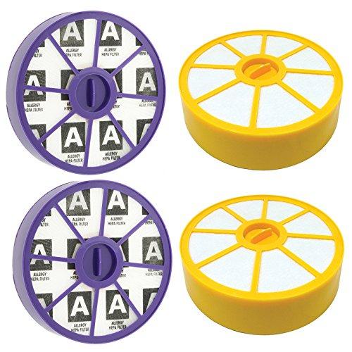Spares2go wasbare voormotorfilter en anti-allergie motorfilter, filterset voor stofzuigers, 2 stuks per