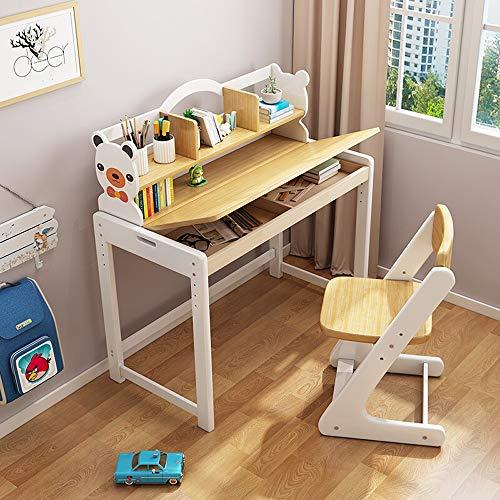 Los escritorios de los niños Ranura for niños Estudio mesa for Niños Niñas cajón lápiz de la escuela Kids Learning estación de trabajo del estudiante Escritorio Y Silla Conjunto Para junior muchachos