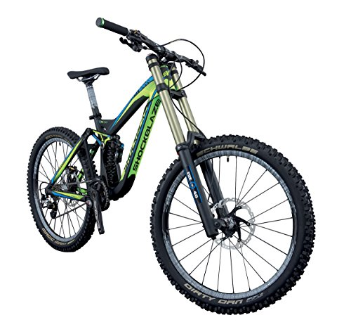 SHOCKBLAZE BK15SB1702 DH Team Mountain Bike, Nero