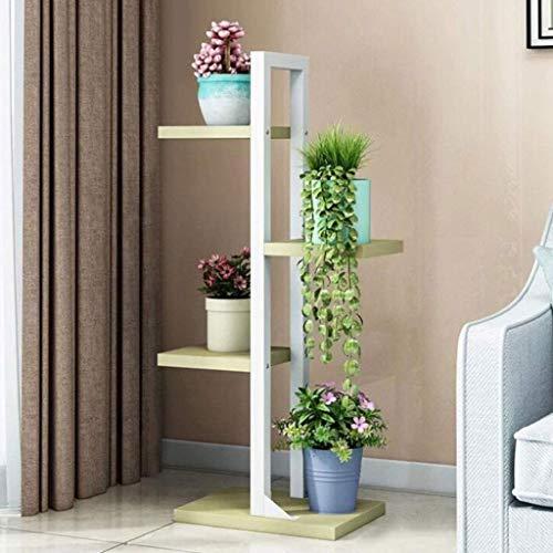 Udfybre - Estantería de metal para plantas (4 niveles, 30 x 30 x 92 cm)