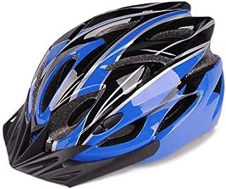 Cycling Bike Bicycle Helmet Mountain Bike Bicycle Accessories[Black Blue]