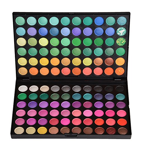 Gracelaza 120 Farben Lidschatten Makeup Paletten - Satte Farben Kosmetik Eyeshadow Palette - Ideal Augenschatten Make Up Etui Box