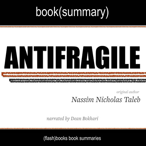 Summary of Antifragile by Nassim Nicholas Taleb cover art