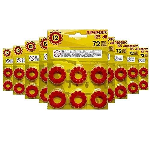 10u21206 - Fulminantes Aros De 12 Tiros, Fulminantes 12 Tiros para Pistolas de Juguete (Pack x648)