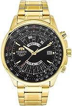 Orient Multi Year Calendar Perpetual World Time Automatic Black Dial Men's Watch FEU07001BX