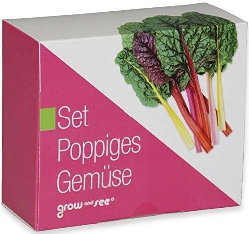 Das Geschenk Set Poppiges Gemüse – die ausgefallene Geschenkidee: Selbst säen, züchten und ernten – bringt Farbe in die Küche (originelle Geschenke)