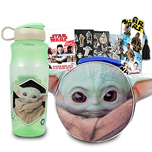 Baby Yoda Shaped Lunch Bag Set For Kids, Toddlers, Preschool...