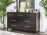 Furniture of America Berenice Dressers, Espresso