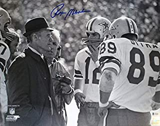 Roger Staubach Autographed Signed Dallas Cowboys 16x20 Photo BAS