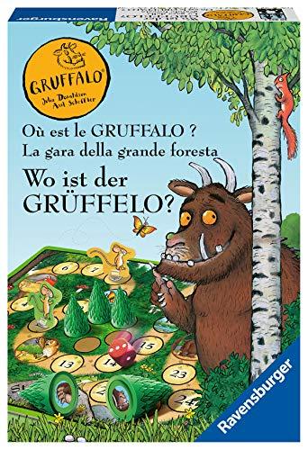 Ravensburger Kinderspiele - 20833 - Wo ist der Grüffelo. - Brettspiel für 2-4 Grüffelo-Fans ab 4 Jahren