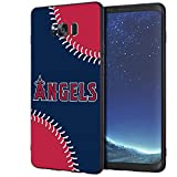 Phone Case for Samsung Galaxy S8 Silicone Designed,Ultra Thin Slim Fit Flexible Soft TPU ScratchProof Smartphone Case for Baseball Sports Lovers(Matte Black) SS68