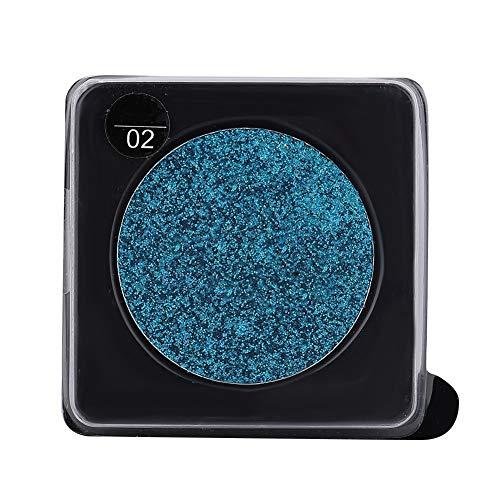 Glitter enkele kleur oogschaduw ogen pigment oogschaduw poeder podium make-up cosmetica 3 kleuren (05# TAUPE)