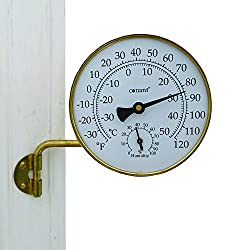 Best Brass Outdoor Thermometer Made In Usa