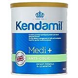 Kendamil Medi+ Fórmula anti cólico, nacimiento hasta 12 meses, 400 g – hecho en Reino Unido, nutrientes crema completa, sin aceite de palma, sin aceite de pescado, sin soja, sin OMG