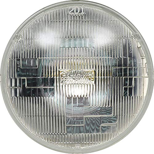 SYLVANIA - H6024 SilverStar Sealed Beam Headlight - High Performance Halogen Headlight Replacement (7' Round) PAR56, Brighter & Whiter Light for Added Clarity Downroad and Sideroad, (Contains 1 Bulb)
