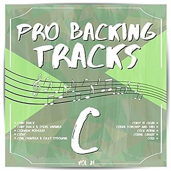 Pro Backing Tracks C, Vol. 21