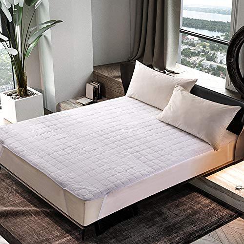 Cojín antideslizante grueso de la cama de la haiba, cojín de la protección del hotel, ropa de cama