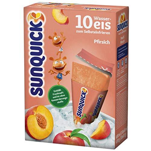 Sunquick Wassereis Pfirsich (10x60ml)