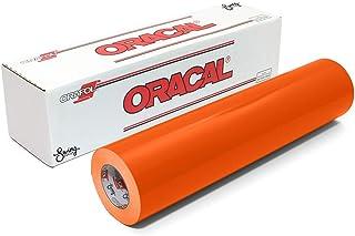Oracal 651 Glossy Permanent Vinyl 12 Inch x 6 Feet - Orange